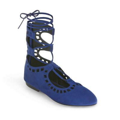 Lace-Up High Back Shoe by Seventh Avenue