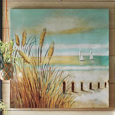 Canvas Beach Art