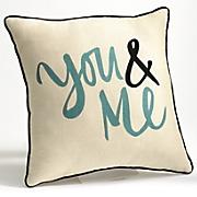 you   me pillow