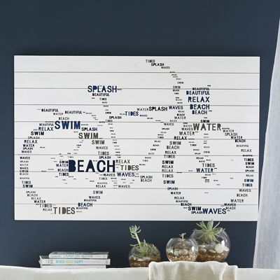 Bicycle Word Wall Art