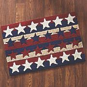 stars   stripes americana indoor outdoor mat
