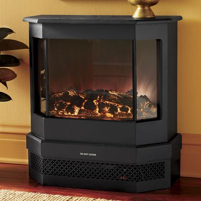 3-Sided Contemporary Classic Fireplace