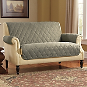 Diamond-Quilted Furniture Protector
