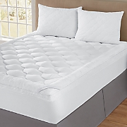 Sleep Connection® Scalloped Mattress Pad with Pillows by Montgomery Ward®