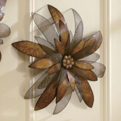 Wall Flower Sculpture