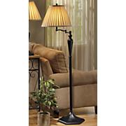 swival arm floor lamp