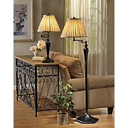 Swivel Arm Table and Floor Lamp