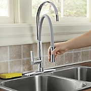 Breeze Metal Free-Form Kitchen Faucet by Cleanflo