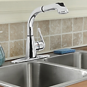 Lily Pullout Kitchen Faucet by Cleanflo