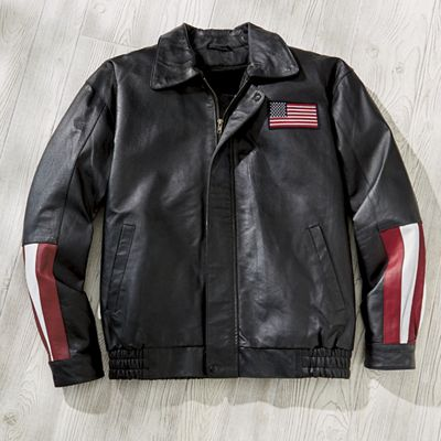 Victory Faux-Leather Jacket