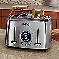 4-Slice Classic Collection Stainless Steel Toaster