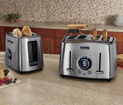 Classic Collection Stainless Steel Toaster