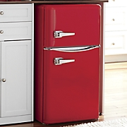 3.2-Cu. Ft. Double-Door Retro Fridge