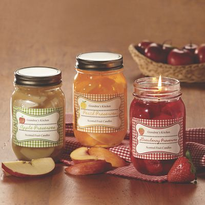 Grandma's Kitchen Fruit Preserve Candle by Candle Cottage