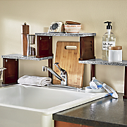 Shutter Over-The-Sink Shelf