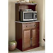 Shutter Microwave Cabinet