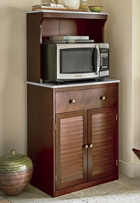 Shutter Microwave Cabinet