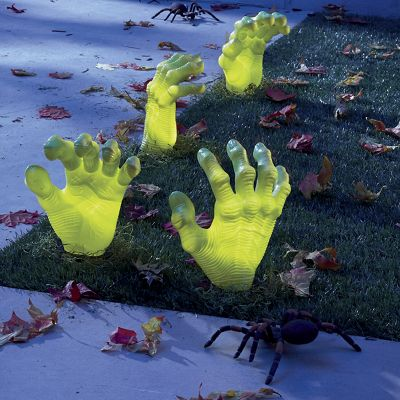 4-Piece Creepy Driveway Hand Set