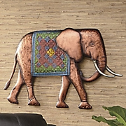 Metal Elephant Wall Art
