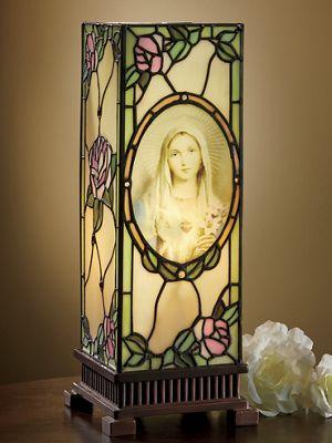 Virgin Mary Uplight