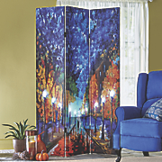 Lighted Impressionist Room Screen