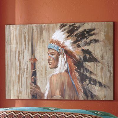 Warrior At Dawn Canvas Art