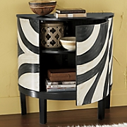 Zebra Print Cabinet
