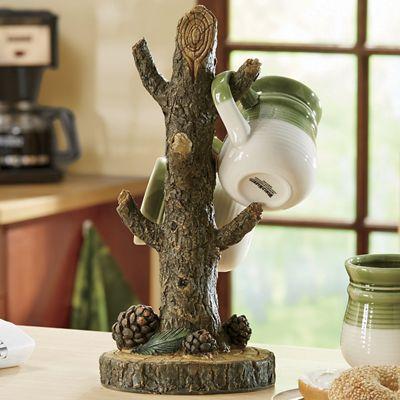 Lodge Tree Mug Holder