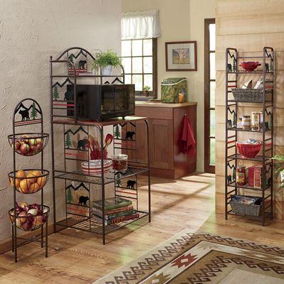 Lodge Bear Kitchen Furniture