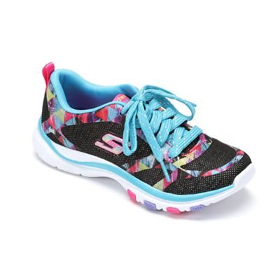 Kids' Skechers Trainer Lite Lace-Up Shoe