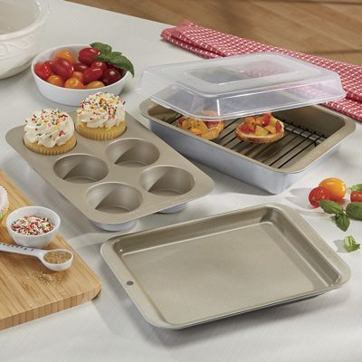 5-Piece Compact Oven Bakeware by Nordic Ware