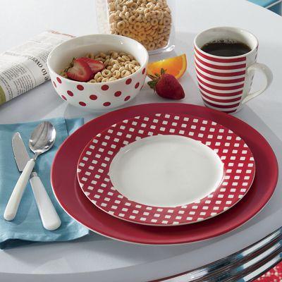 16-Piece Kenna Dinnerware Set by Pfaltzgraff