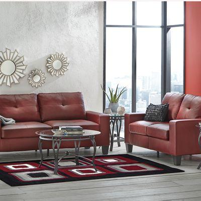 Platinum II Loveseat and Sofa