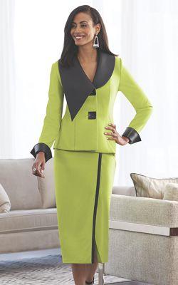 Jett Faux-Leather Trim Suit