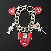 Conversation Heart Bracelet