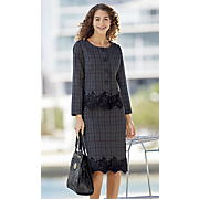 party paula plaid suit