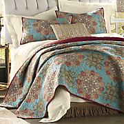 sumba oversized quilt and sham & Quilts and Bedspreads - Rustic Farmhouse Style Affordable Prices ... Pezcame.Com