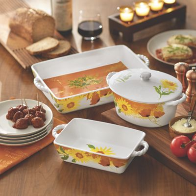 4-Piece Oven to Table Bake & Serve Set by Lenox