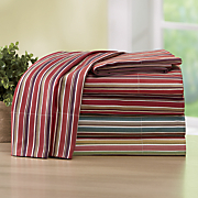250 thread count cotton stripe sheet set