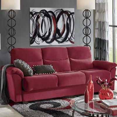 Super Plush Convertible Sofa