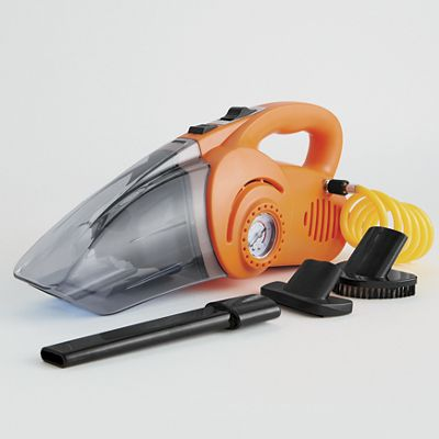 2-In-1 Wet & Dry Car Vac with Air Compressor
