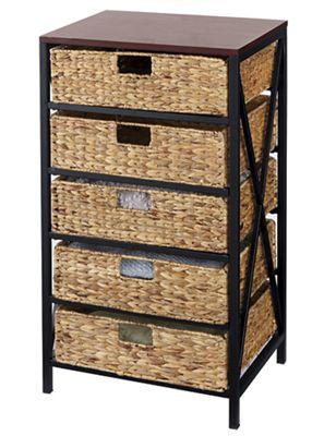 5-Basket Storage Tower