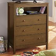 3 drawer media chest