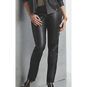 misha faux leather pant
