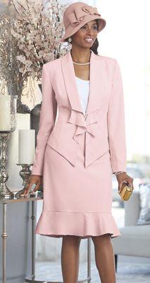 Zandra Skirt Suit and Hat