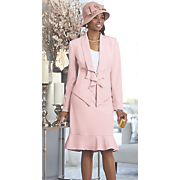 Zandra Skirt Suit and Hat