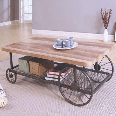 Superb Wesley Wagon Coffee Table