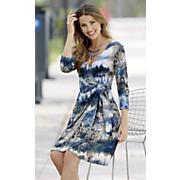 Stella Mock Wrap Dress