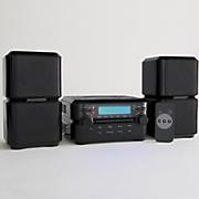 3 pc  cd shelf system by magnavox