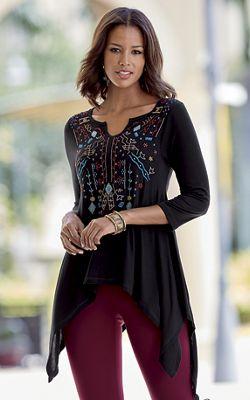 Alena Embroidered Tunic